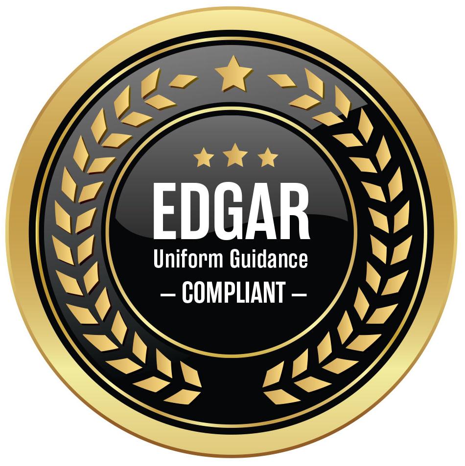 Edgar Uniform Guidance Compliant
